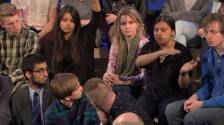 Questioning Conservative Party Panel on BBC3 Free Speech