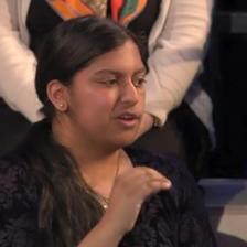 Speaking on BBC3 Free Speech