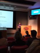 Delivering a keynote speech on my Fixers Campaign at Royal Society of Medicine